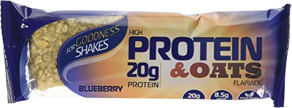 For Goodness Shakes Protein Oats Blueberry Bar 75g – Pack of 12 Estimated Price : £ 23,99