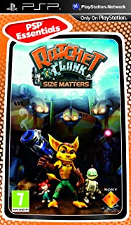 Ratchet and Clank: Size Matters - Essentials Pack (Sony PSP) [Importación Inglesa]