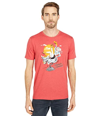 Original Penguin Graphic Ride Em T-Shirt (Cardinal) Men