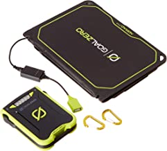 Goal Zero Venture 30 Solar Recharging Kit with Nomad 7 Plus Solar Panel, 7800mAh Power Bank