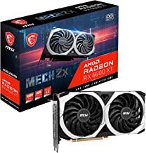 MSI Gaming AMD Radeon RX 6600 XT 128-bit 8GB GDDR6 DP/HDMI Dual Torx Fans FreeSync DirectX 12 VR Ready OC Graphics Card (R...