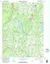 YellowMaps Lake Ariel PA topo map, 1:24000 Scale, 7.5 X 7.5 Minute, Historical, 1994, Updated 1995, 26.8 x 21.9 in