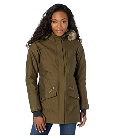 Columbia Carson Pass IC Jacket (Olive/Chalk Sherpa/Black) Women