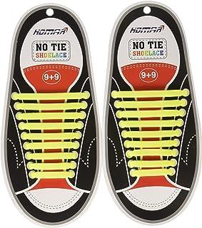 Unisex Superficie Liscia Gli originali Slaces Lacci per scarpe Ricoperti in silicone