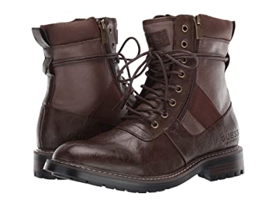 GUESS Radford (Dark Brown) Men