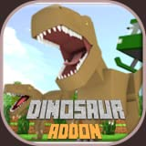 Dinosaur Addon For Minecraft PE