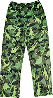 iscream Big Boys Silky Soft Plush Fleece Pants - Cool Camo Collection