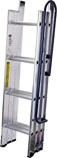 WERNER LADDER AA1510CA Al Attic Ladder, 7' - 9'10