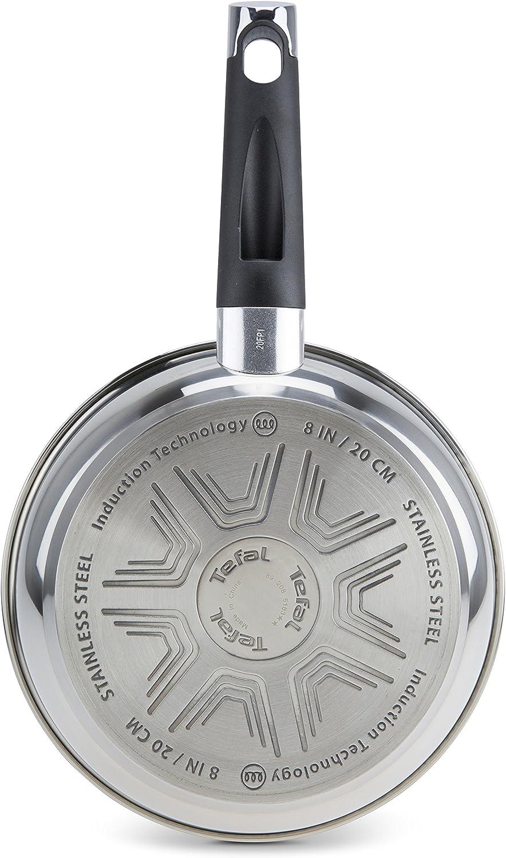 antiadherente Titanium Extra aptas para todo tipo de cocinas incluido inducci/ón Sart/én de aluminio de 24 cm exterior resistente en acero Tefal Emotion