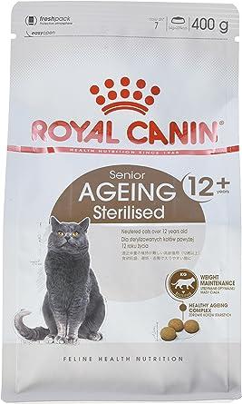 Royal Canin Comida para gatos Sterilised +12 2 Kg: Amazon.es: Productos para mascotas