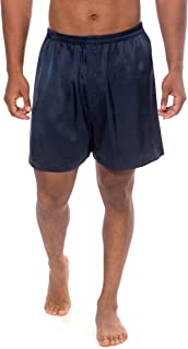 TexereSilk Men's 100% Silk Boxers Underwear (Country Club)
