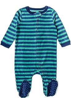 Cloud Island Baby Boys 2pc Penguin Fleece Sleep N Play Blue