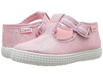 Cienta Kids Shoes 51013 (Infant/Toddler/Little Kid/Big Kid) (Light Pink) Girls Shoes