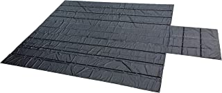 Carolina Tarps 8' Drop Lumber Tarp for Flatbed Trailers 24'x27' with 8'x8' Flap