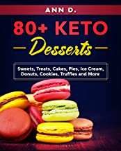 80+ KETO Desserts: Sweets, Treats, Cakes, Pies, Ice Cream, Donuts, Cookies, Truffles  and More.