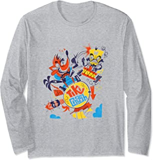 Crash Team Racing Tiki Crash vs. Neo Cortex  Long Sleeve T-Shirt