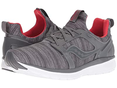 Saucony Stretch Go Ease (Grey/Red) Men
