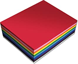 30 Pack EVA Foam Sheets, 9 x 12 Inch, Assorted Colors (10 Colors), 2mm Thick, by Better Office Products, for Arts and Craf...