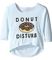The Original Retro Brand Kids - Donut Distrub 3/4 Dolman Tee (Little Kids/Big Kids)
