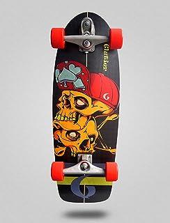 Glutier Surfskate Hip Skulls 30,5 T12 Surf Skate T...