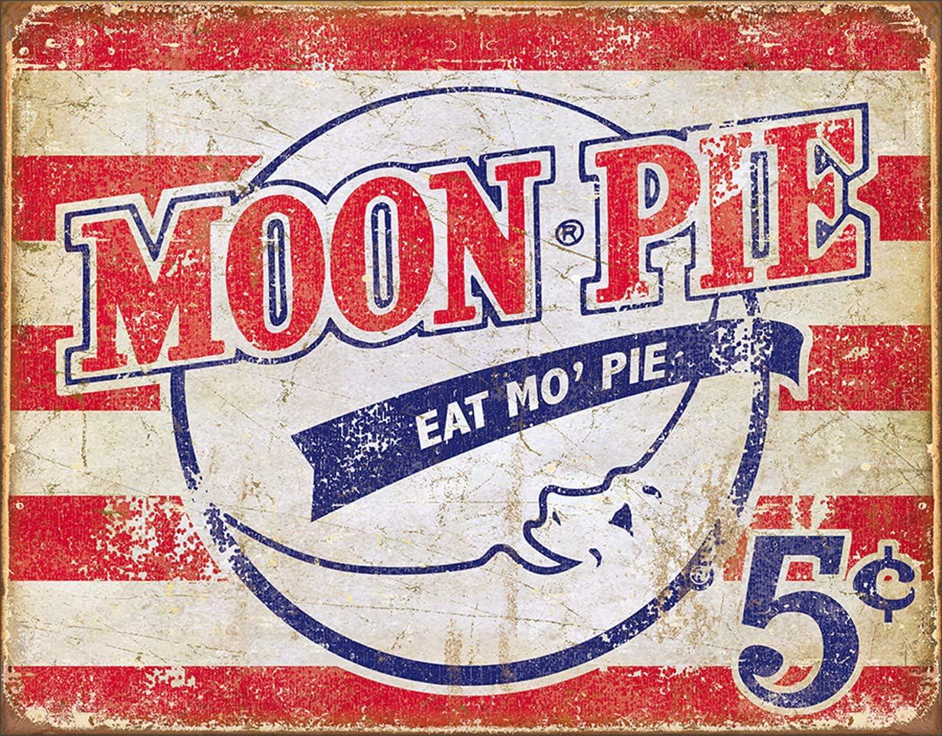Desperate Enterprises Moon Pie - American Under Ranking integrated 1st place blast sales 12.5 Sign W x 16