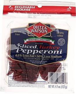 Dietz & Watson Turkey Pepperoni, 4.5 oz