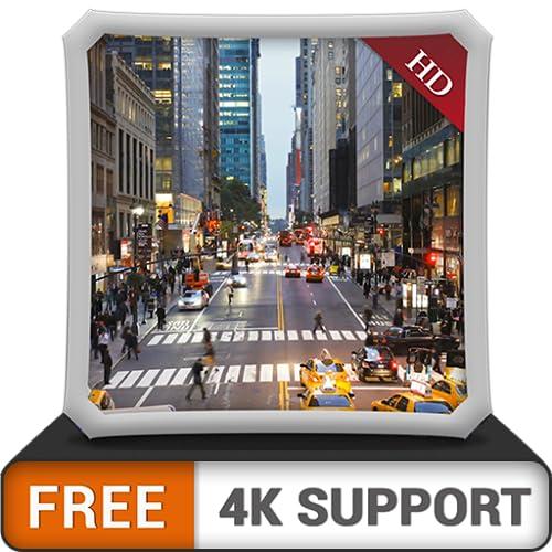 City Rush HD gratis: decora tu habitación con hermosos paisajes en tu...