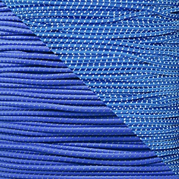 """1//8/"""" 1//4 3//16 5//16 3//8 1//2 inch Crafting Stretch String 10 25 50 /& 100 Foot Lengths Made in USA 1//16 5//8 PARACORD PLANET Elastic Bungee Nylon Shock Cord 2.5mm 1//32"""