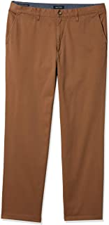 Nautica mens Classic Fit Flat Front Stretch Chino Deck Pant Business Casual Pants