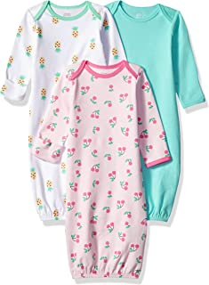 Girls' Baby 3-Pack Sleeper Gown