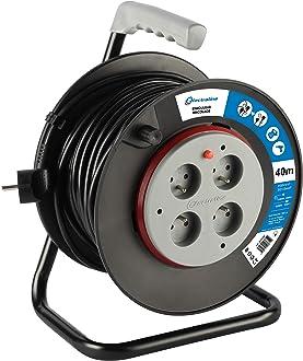 section 3G1,5 mm/² blanc Electraline 10148026J Rallonge Prolongateur /électrique 15 m 16A