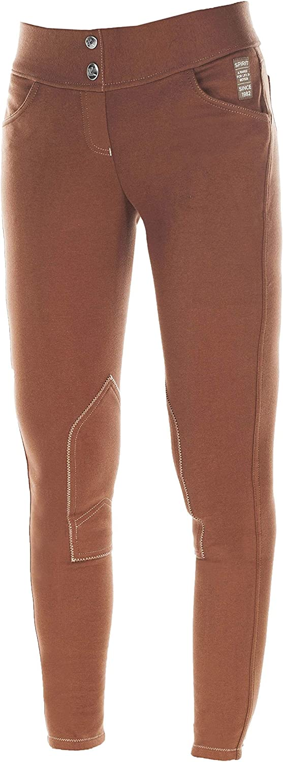 HORZE Kids and Ponies Paige Childrens Pull On Breeches