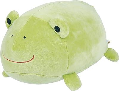 りぶはあと 抱き枕 カエル W36xD22xH18cm マシュマロココン、カエル 58721-54