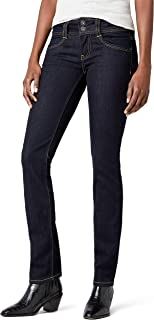 Pepe Jeans Women's Gen PL201157 M15 -  Straight Leg Blue (Denim)