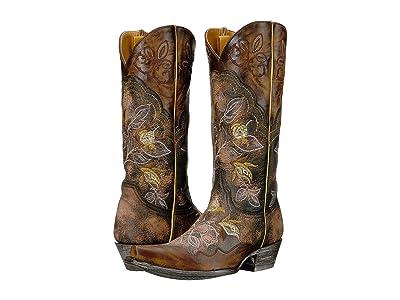 Old Gringo Vivien (Shedron/Brass) Cowboy Boots
