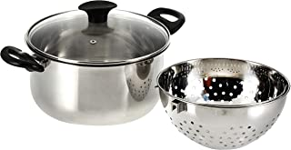 Cuisinart 25CM Stainless Steel Pasta Pot, Silver - OME-828