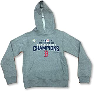 Outerstuff Boston Red Sox 2018 World Series Champion Boy's Pullover Hoodie