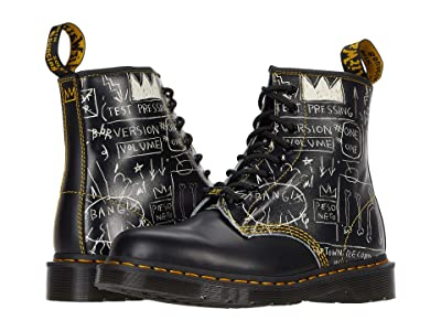 Dr. Martens 1460 Basquiat (Black/White Test Pressing Basquiat Backhand/Smooth) Shoes