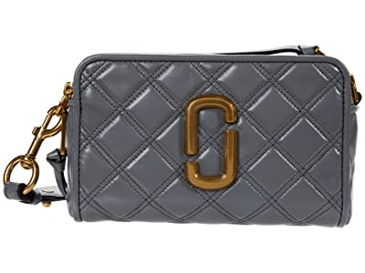 Marc Jacobs The Softshot 21 Crossbody (Dark Grey) Handbags