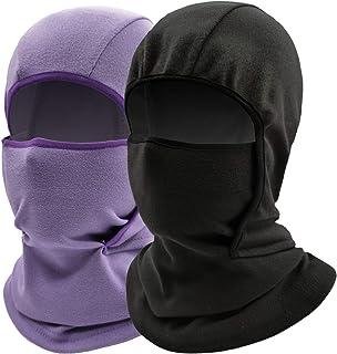 Kids Balaclava Ski Mask Windproof Fleece Neck Warmer...
