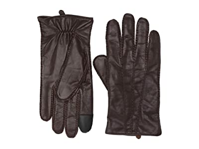 Frye Goatskin Extended Three Point Gloves (Mahogany) Over-Mits Gloves