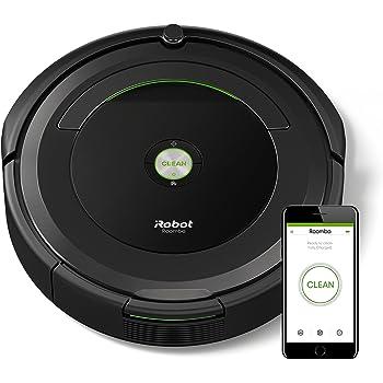 【Amazon.co.jp限定】ルンバ 691 アイロボット ロボット掃除機 wifi対応 遠隔操作 自動充電 清掃予約 髪の毛 ペットの毛のゴミ 畳などの床に ロボットクリーナー ブラック R691060【Alexa対応】