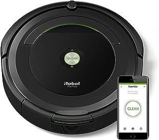 【Amazon.co.jp限定】ルンバ691 アイロボット ロボット掃除機 wifi対応 遠隔操作 自動充電 清掃予約 髪の毛 ペットの毛のゴミ 畳などの床に ロボットクリーナー【Alexa対応】