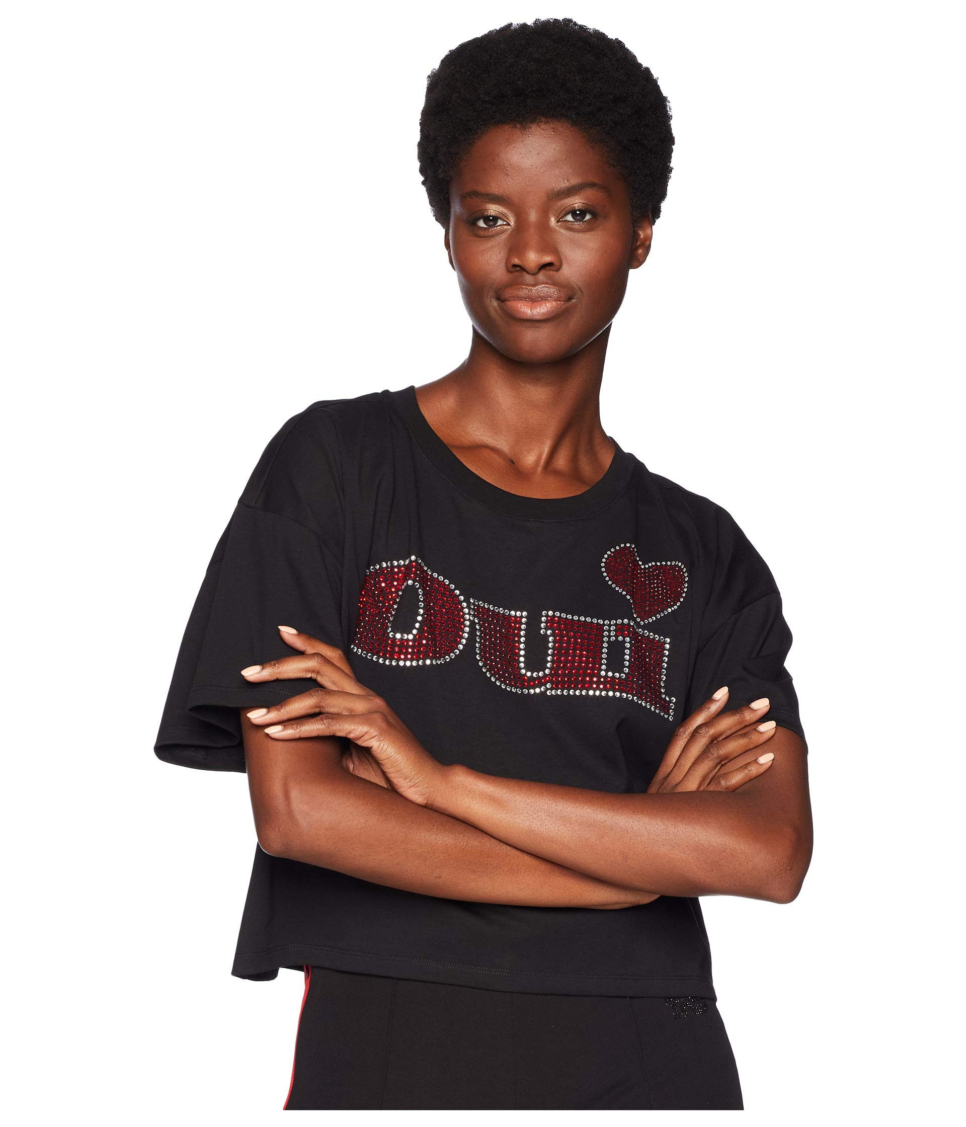 "Front Black At With T Print ""oui"" The shirt Kooples 6SqZpp1"
