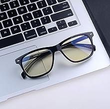 Shileded Blue Light Blocking Computer Glasses[Better Sleep]Anti Blue Light,Anti Glare Reading/Gaming Glasses for Men and Women (Black)…