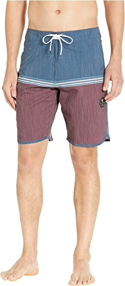 Dredges Four-Way Stretch Boardshorts 20""