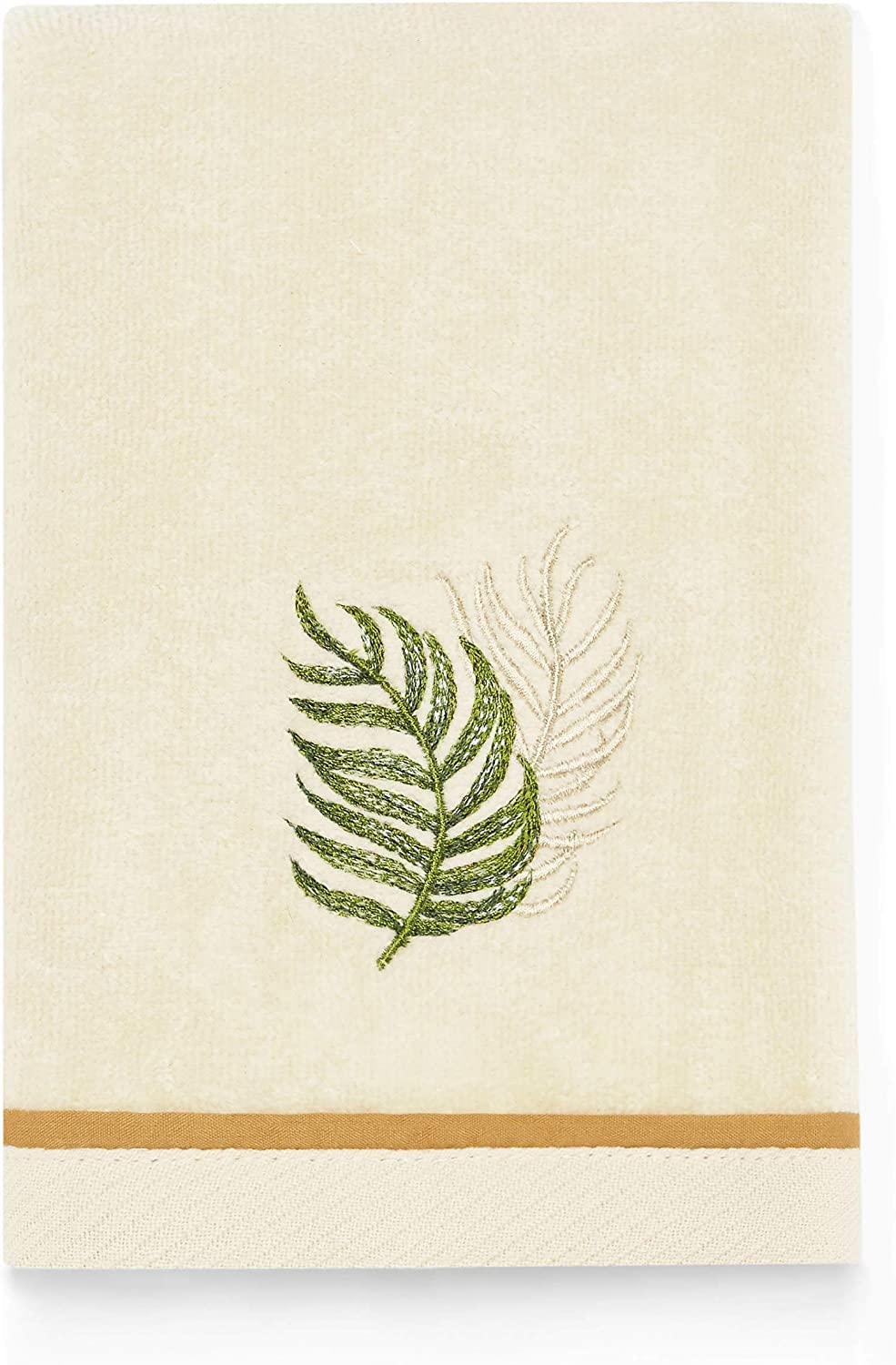 High material Tommy Bahama Palmiers Fingertip Towel Ivory 18 11 x New popularity