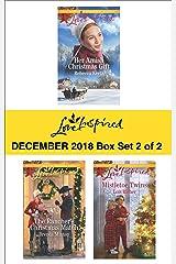 Harlequin Love Inspired December 2018 - Box Set 2 of 2 Kindle Edition