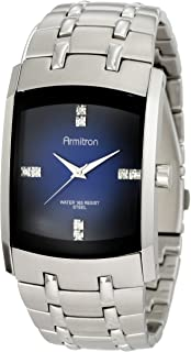 Armitron Men's Swarovski Crystal Accented Stainless Steel Watch