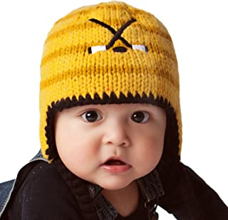 Huggalugs Baby and Toddler Boys Hockey Beanie Hat